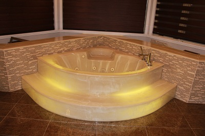 A Home Jacuzzi