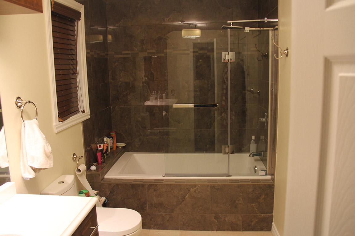 R alisations r novation et remodelage int rieur rajan designs inc - Douche de salle de bain ...